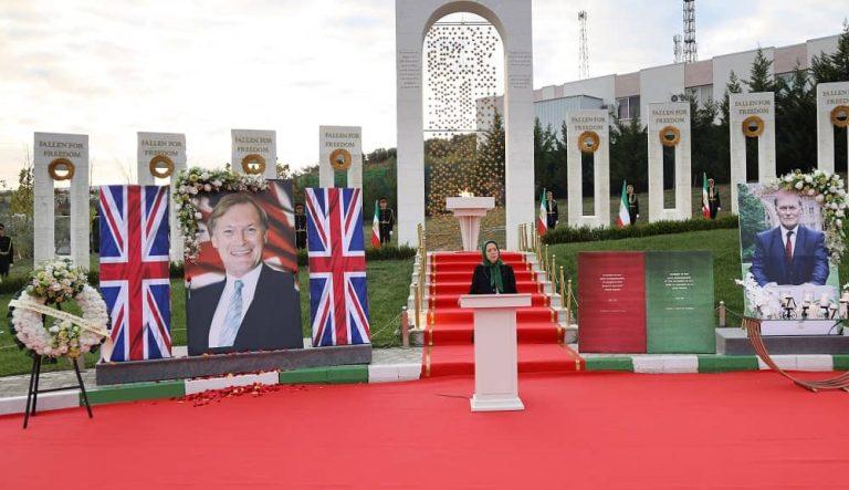 Ashraf 3, Albania: A Memorial Ceremony To Pay Tribute To Sir David Amess
