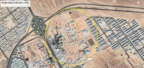 Drone production facility in Semnan