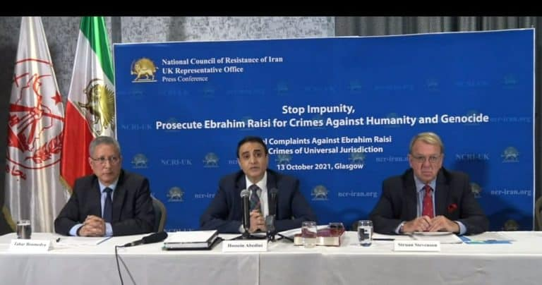 Press Conference Repeats Call to End Decades of Impunity in Iran