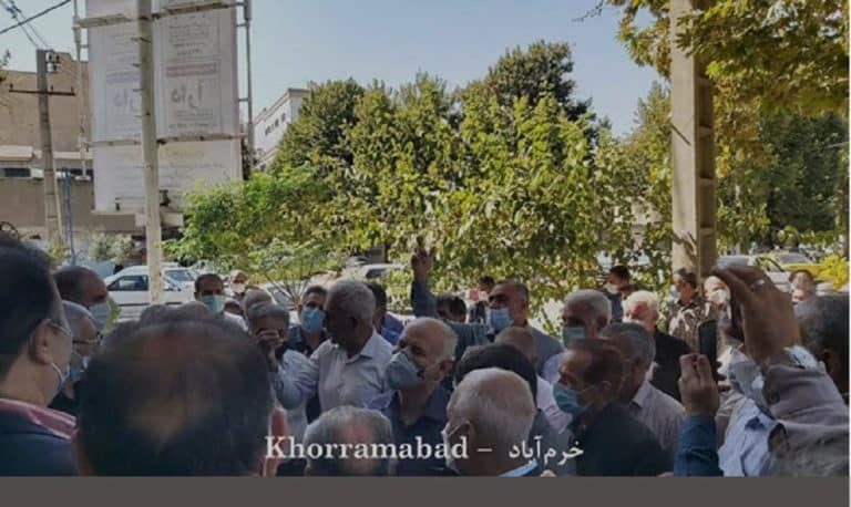 Iran: Retirees and Teachers Protest in Tehran and 16 Other Cities