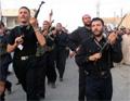 Members of Badr Brigade militia in Iraq