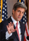 The former Democratic presidential candidate Senator John Kerry
