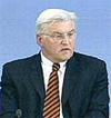 German Foreign Ministtry Frank-Walter Steinmeier