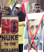 Iranians demonstrate in Berlin calling Iran regime's referral to UN Security Council