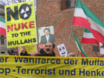 Iranians protest against Iranian regime's nuclear weapons program
