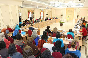 International Women's Day conf. at Iranian opposition HQ in Paris