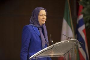 Maryam Rajavi's speech in Norway - 2014