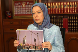 Maryam Rajavi, President-elect of the Iranian Resistance speaks at the Subcommittee on International Human Rights of the Standing Committee on Foreign Affairs of the Canadian Parliament.