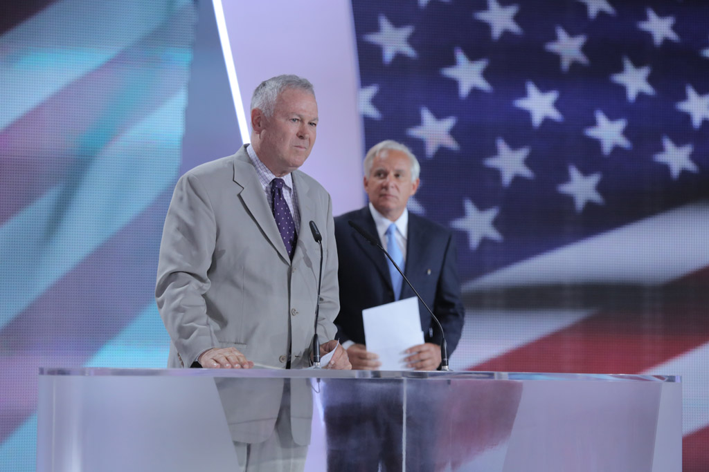 Rep. Dana Rohrabacher, Chairman of the US House Subcommittee on Europe, Eurasia and Emerging Threats: I see a day when elections will be held in Iran and the mullahs won't be choosing the candidates. I see a day when Iran will rejoin the family of nations of free people. I see a day when the people of Camp Liberty will be welcomed home as heroes into a free Iran. Today, it is my honor to join you in reminding the corrupt and brutal mullahs who control Iran today that their day is coming and it will come soon