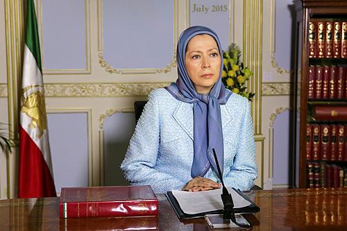 Iranian opposition leader Maryam Rajavi