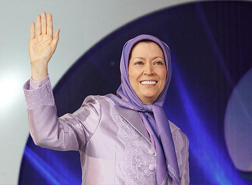 Iranian opposition leader Mrs. Maryam Rajavi