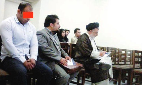 Hamed sentenced to eye-gouging in Iranian regime's fundamentalist court