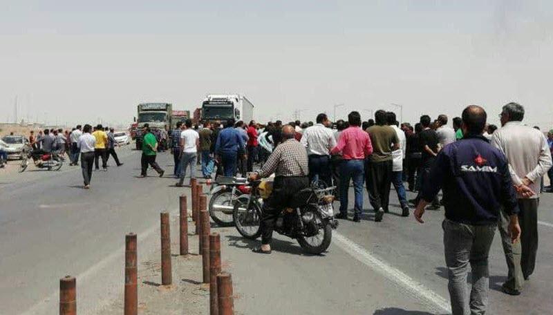 Iran-Nationwide-Truck-Drivers-Strike