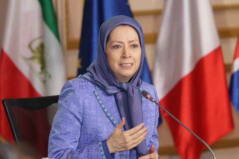 Maryam Rajav-Mike Pompeo-New Iran Strategy
