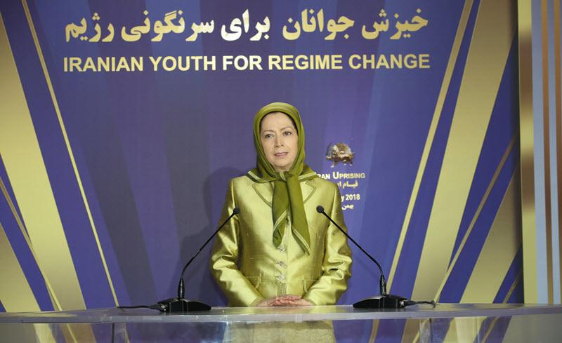 Maryam Rajavi hailed the people and martyrs of Kazeroun
