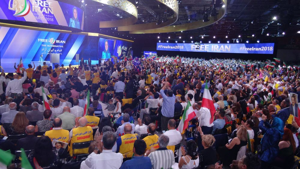 """Paris: """"Free Iran"""" With Hundreds of Top Personalities, Lawmakers and Elected Representatives From Five Continents"""
