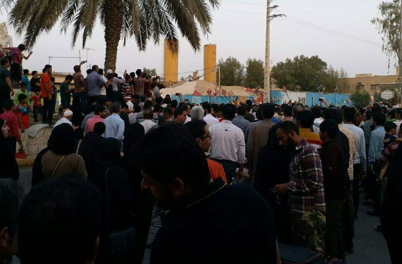 Borazjan-More protests over water shortages break out in Iran