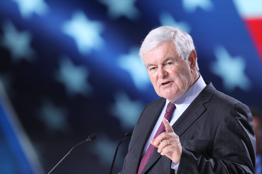 Newt Gingrich: Reality-Based Us Policy on Iran Will Bring Regime Change