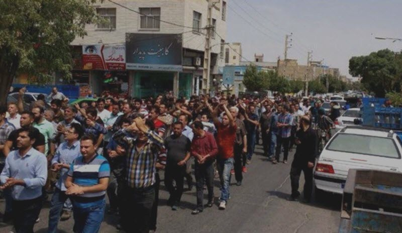 IRAN: Protests and Clashes With Mercenaries Spread to Various Cities