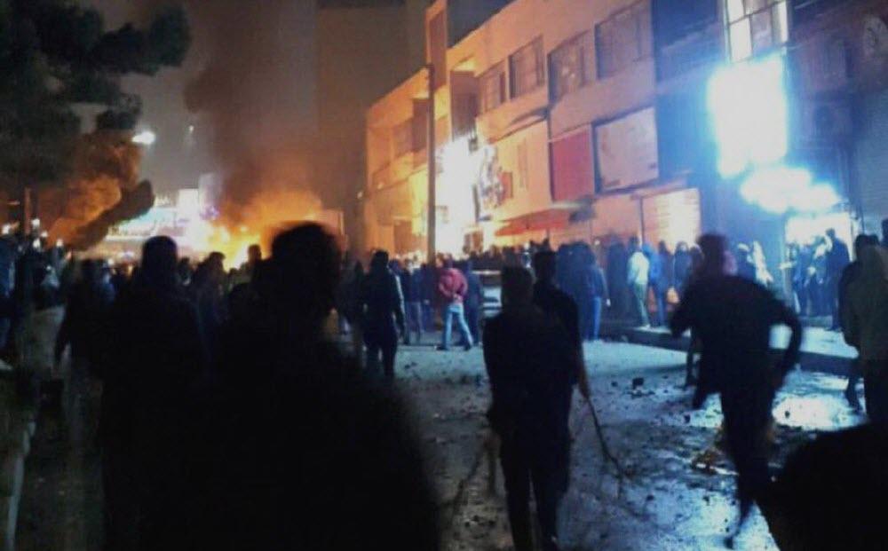 Iran: Intense Clashes in Tehran Suburbs, Attacking Mullahs' Seminary