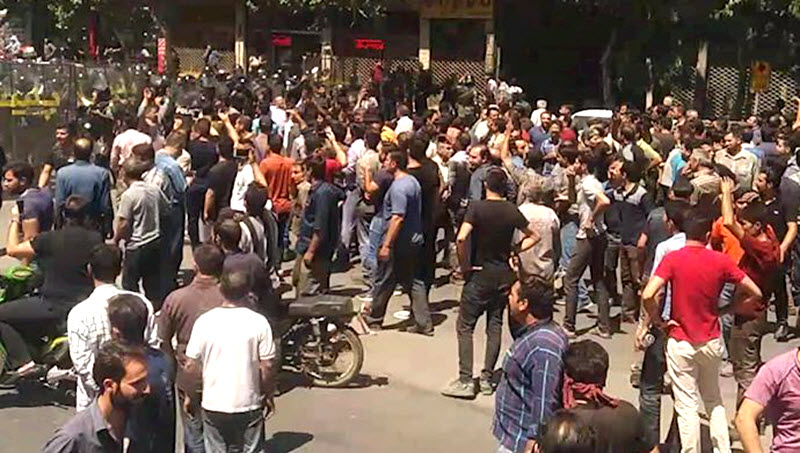 Protests in Shapour, Isfahan, Central Iran, Continue Over Corruption and Dire Economy