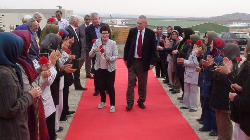 German Parliamentarians visit PMOI-MEK in Albania