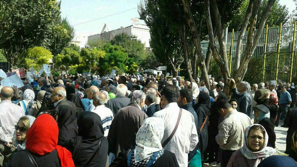 Retirees Are Latest Protesters in Iran