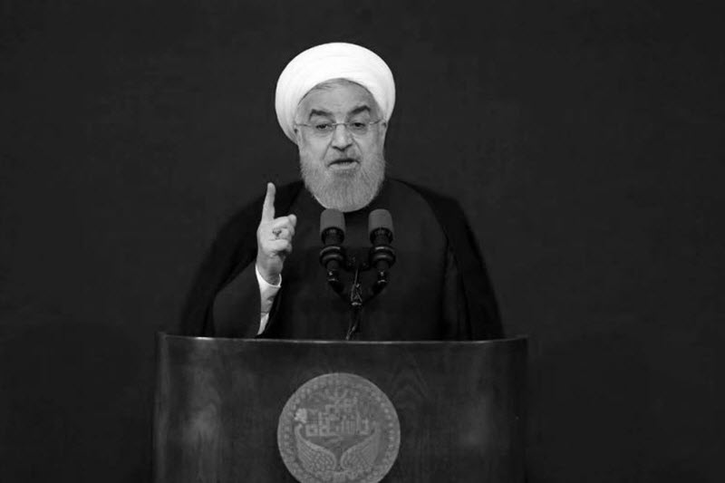 "Rouhani Described the Only Glimmer of Salvation for Iran Regime as ""Hope Therapy"""