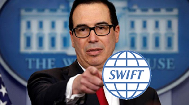 SWIFT Pressured by U.S. Treasury to Disconnect Iran Regime