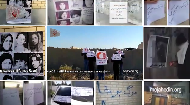 PMOI (MEK)Step up Activities During Iran Protests