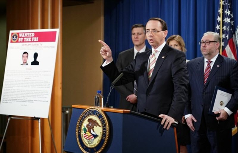 The U.S. Indicts and Sanctions Iran Regime Agents for Cyber Attacks