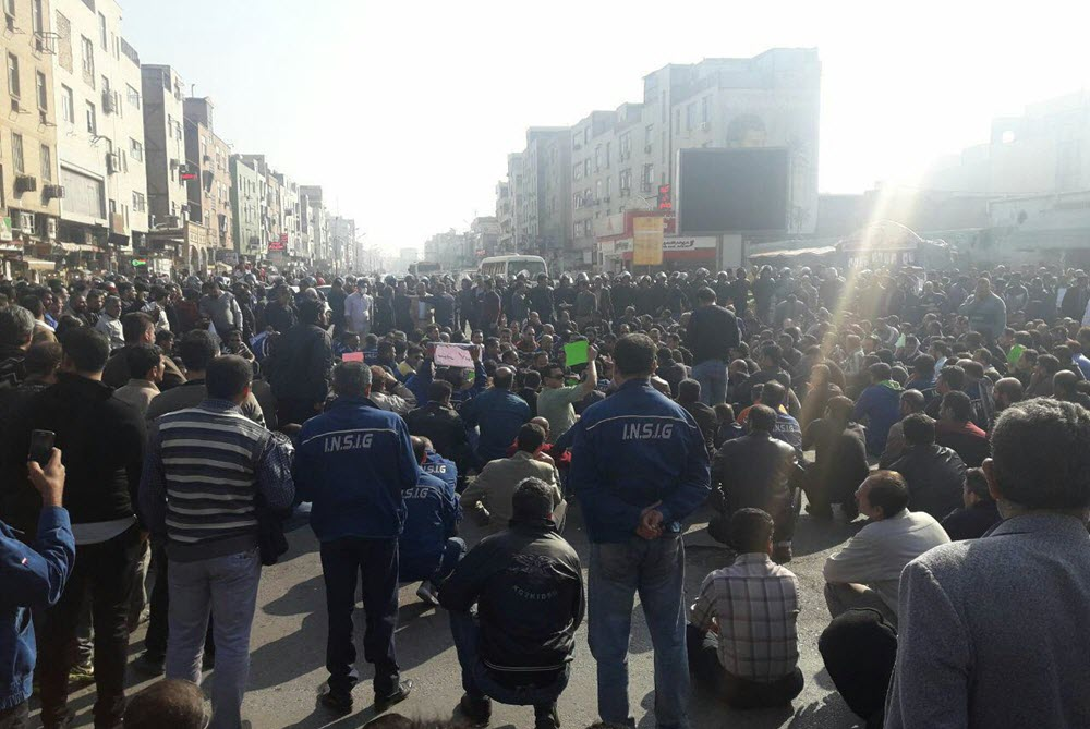 38th day of protests and strike by workers- Call for immediate release of detained workers