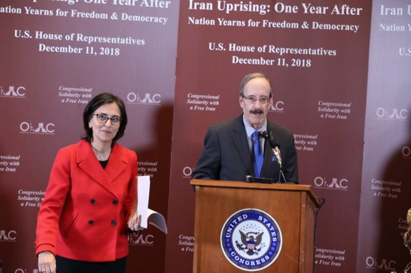 U.S.Congress Members Support Iranian Protests