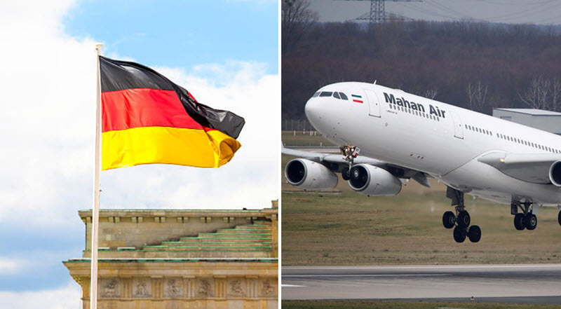 Germany Bans Iran's Mahan Air Over Security Fears