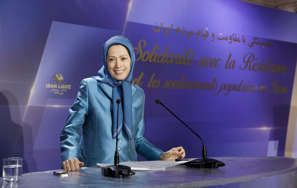 """Maryam Rajavi: """"the World Must Listen to the Cries of Protesters in Iran"""""""
