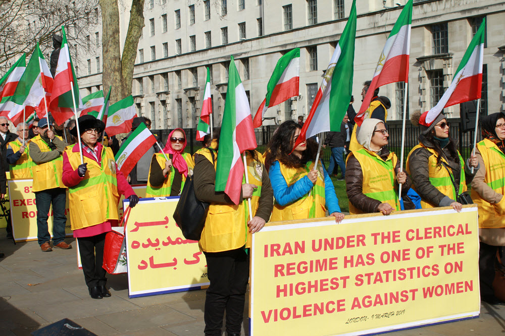 Anglo-Iranian Communities Celebrate International Women's Day in London