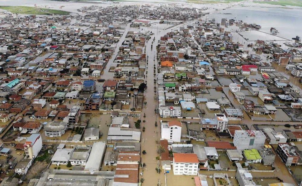 Iran: Floods Devastation in Northern Regions Along Caspian Sea