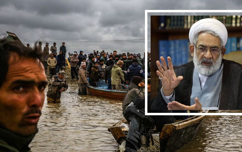 Iran Regime Threatens to Imprison People for Reporting on Floods