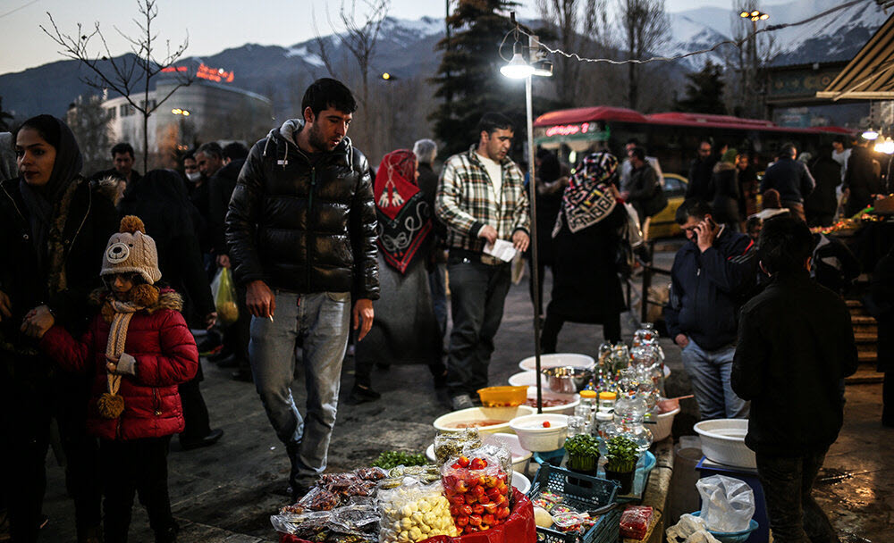 Many Iranians Cannot Afford to Celebrate New Year as They Have in Past Years