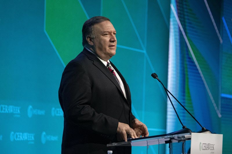Pompeo Urged Oil Companies to Stop Buying From Iran Regime