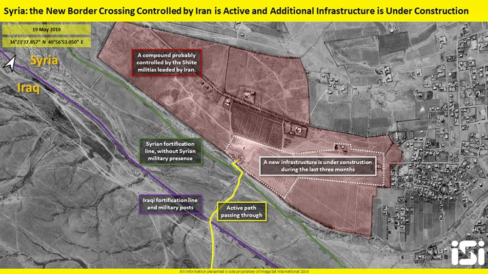 Iran Regime Building New Crossing on Syria Border to Smuggle Weapons and Oil