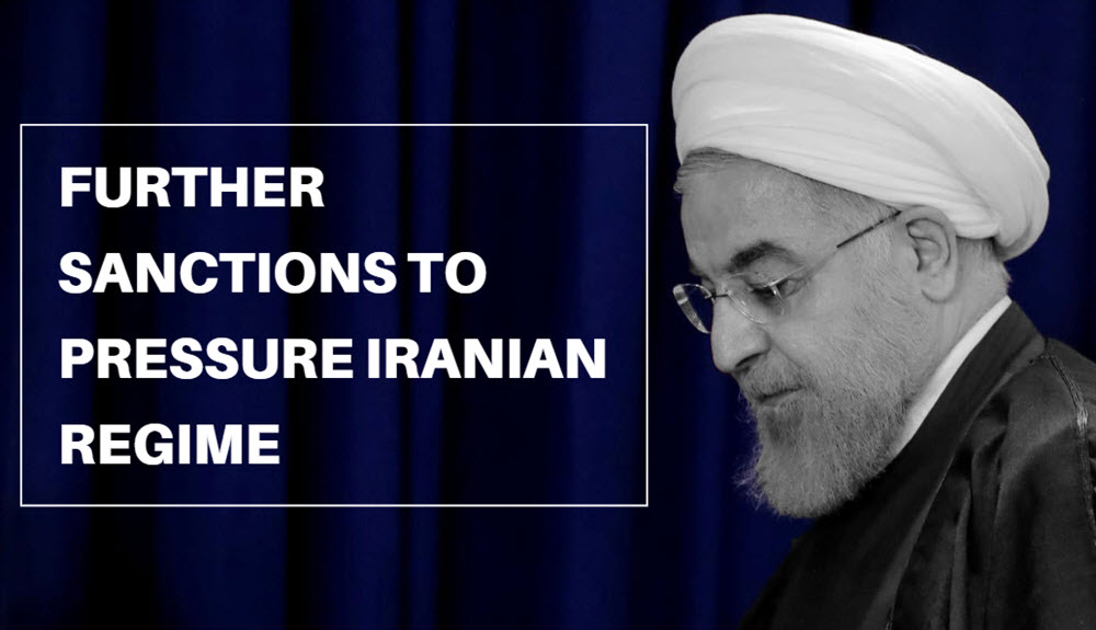 Further Sanctions to Pressure Iranian Regime