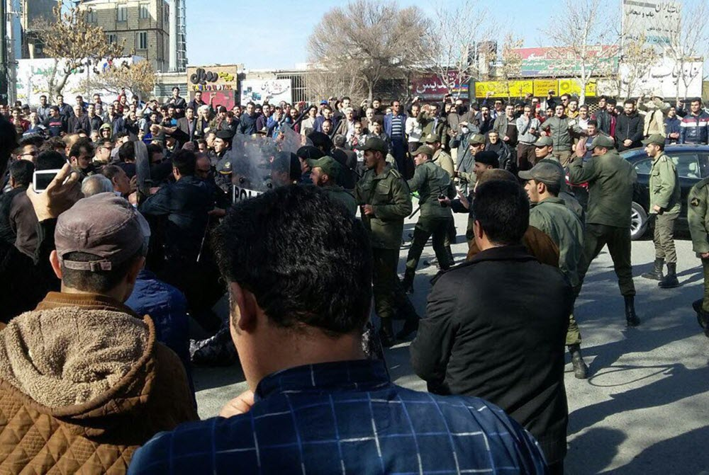 IRAN: Arrest of 4,600 young people during the uprising of January 2018