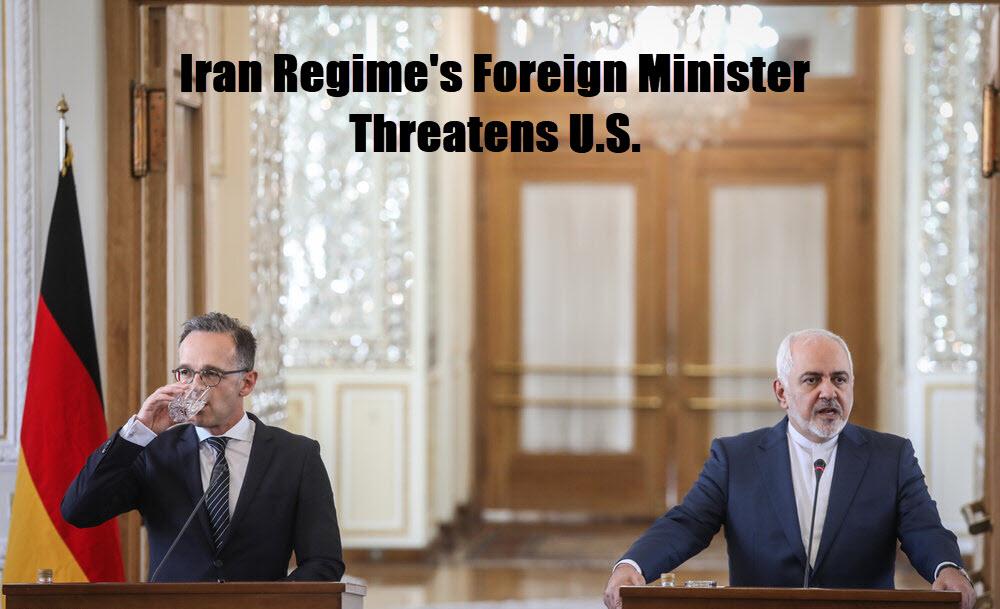 Iran Regime's Foreign Minister Threatens U.S.