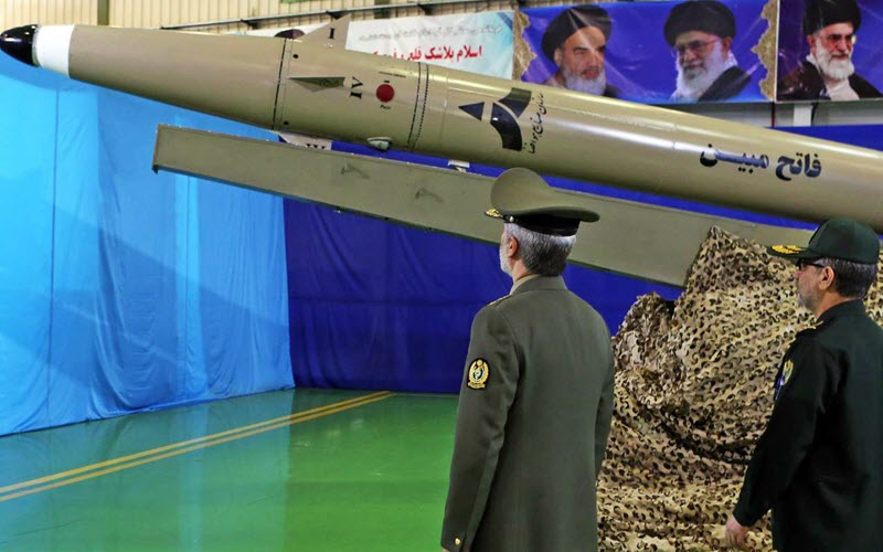 Iran Regime's Missile Stores Uncovered in Syria