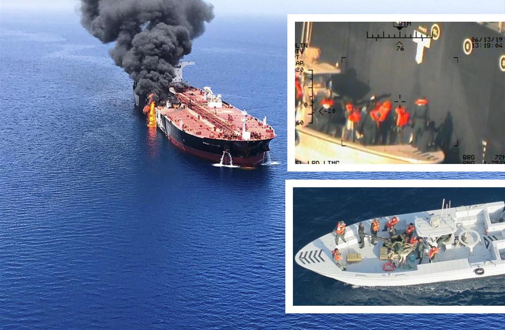 Pentagon Releases New Images of Iranian Regime's Tanker Attacks