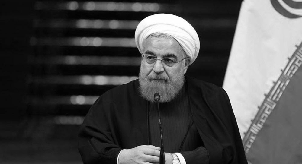Rouhani's Praise of the Revolutionary Guards for Firing at the Drone and the Necessity of Sanctioning and Designating Him as Terrorist