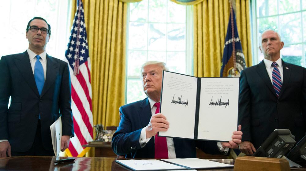 Trump Imposes New Sanctions On Iran Regime