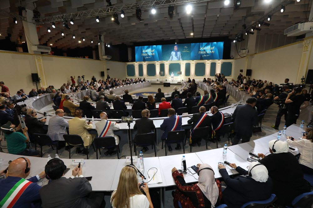 120 Years of Struggle by Iran's People for Freedom: Iranian Opposition MEK Conference in Albania