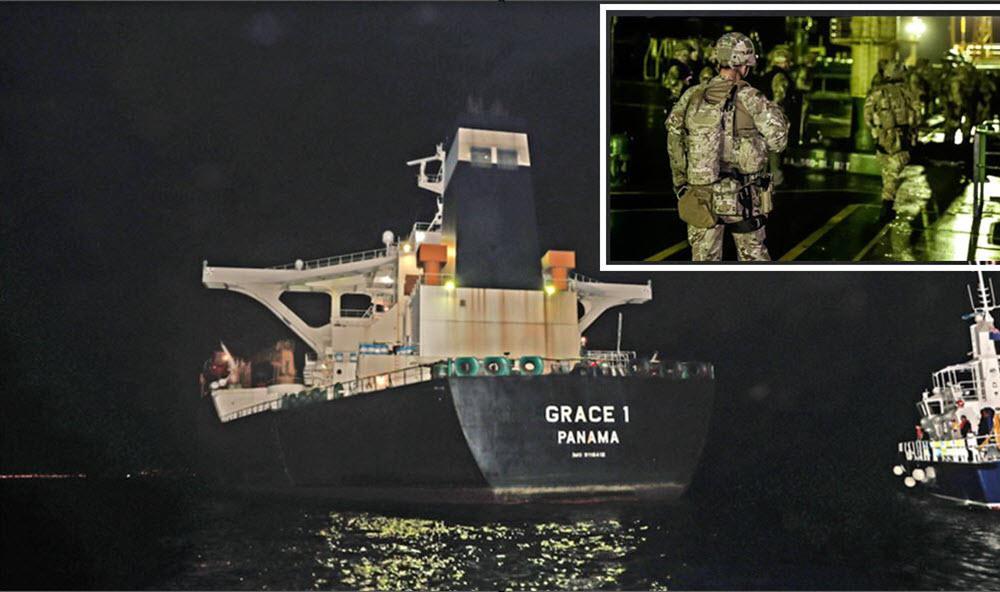Britain Seizes Iranian Regime's Oil Tanker Trying to Skirt EU Sanctions